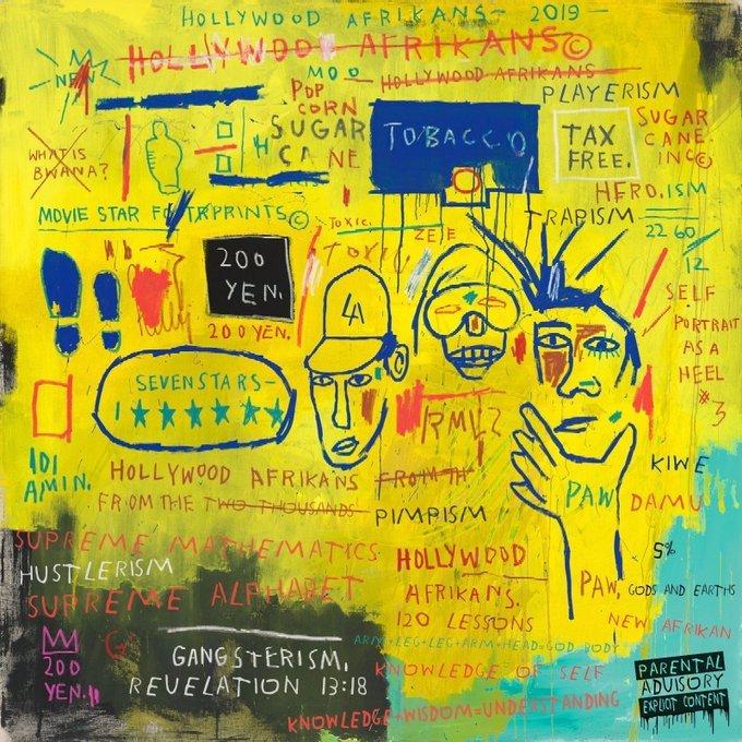 """""""Revelation 13:18"""" released Old School feat. Jean-Michel Basquiat"""