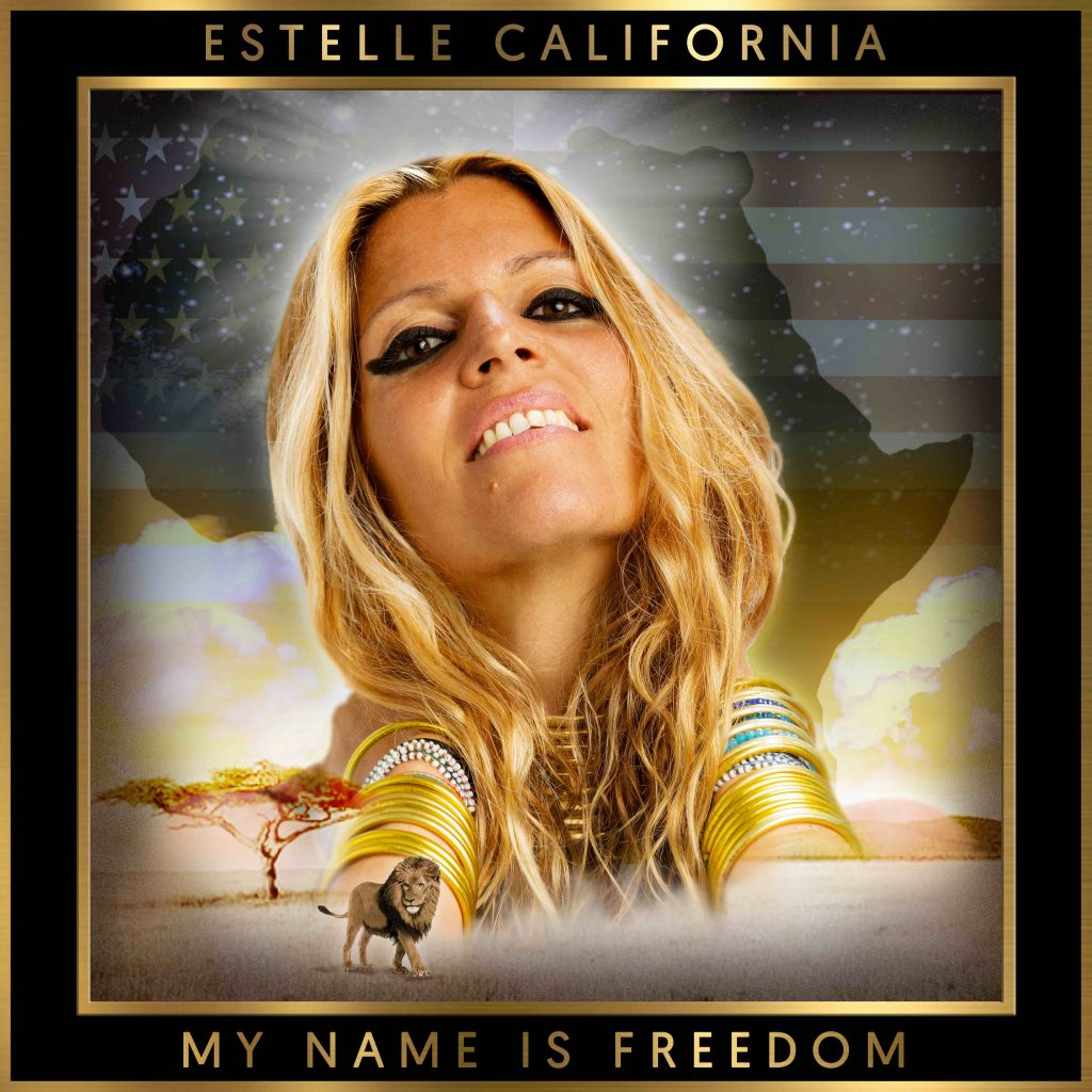 """Estelle California's latest EP """"My Name is Freedom""""(Guitaa Music Review)"""