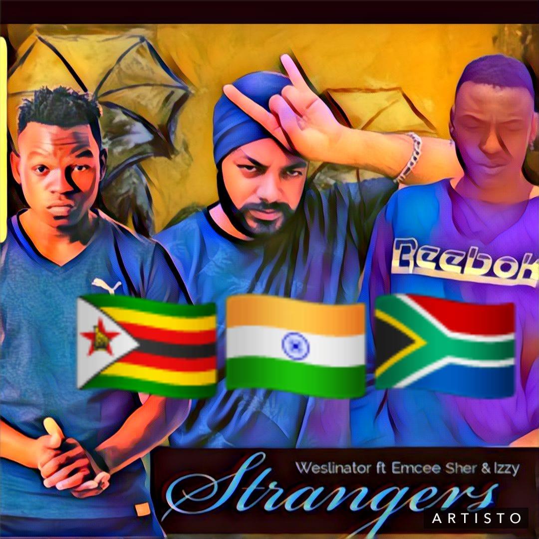 Weslinator - Strangers ft Emcee Sher & Izzy(Guitaa Music Review)